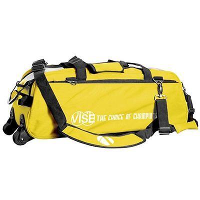 yellow 3 ball tote bowling bag