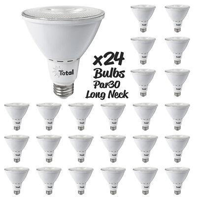 LED 11watt Par30 Long Neck 25° Narrow Flood light bulb dimmable 3000K Case of 24 - Long Neck Par30 Narrow Flood
