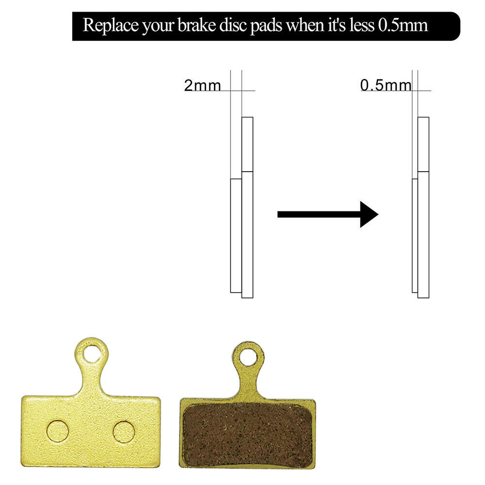 1 Pair Metal Sintered Disc Brake Pads for Shimano BR M610 M675 Deore XT G01S