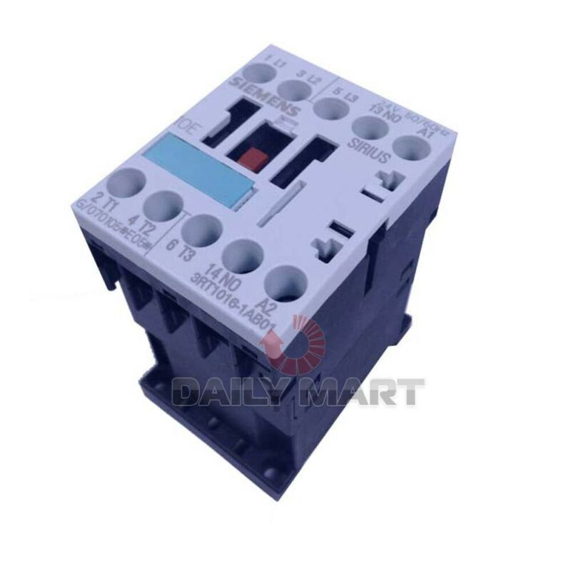 New In Box SIEMENS 3RT1016-1AB01 Contactor 24V, 50/60Hz