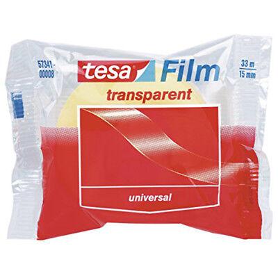 Tesa Film 57341 Transparent Self-adhesive Tape 15mm X 33m