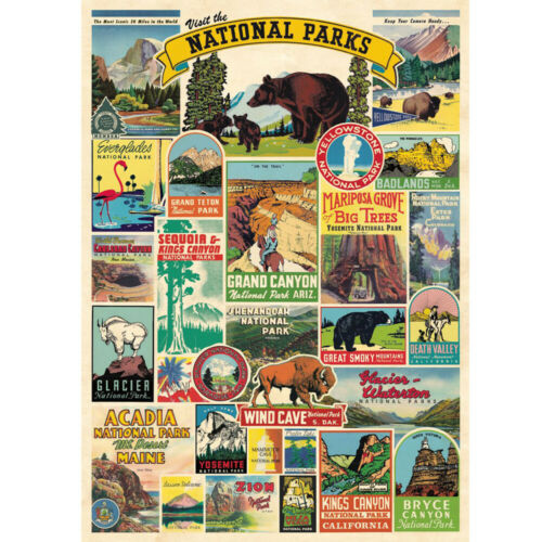 1000 Piece Jigsaw Puzzle National Park Puzzles Adult Learning Education Game Toy