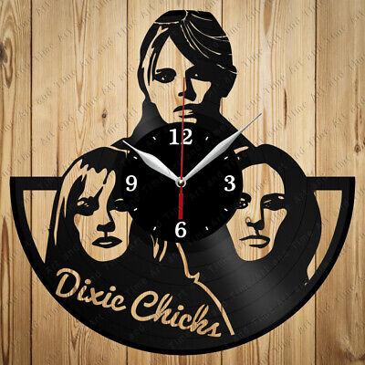 Vinyl Clock Dixie Chicks Band Original Vinyl Clock Art Home Decor Handmade 4390