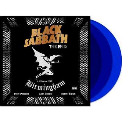 Black Sabbath - The End, Birmingham: 04/02/2017 (NEW 3 BLUE VINYL LP) PREORDER