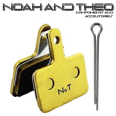 N&t Shimano B01 B01S E01 E01S M05 M05S M05Ti Sinterizadas Pastillas Frenos