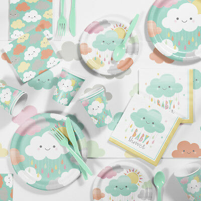 Clouds Baby Shower Party Supplies - Cloud Paper