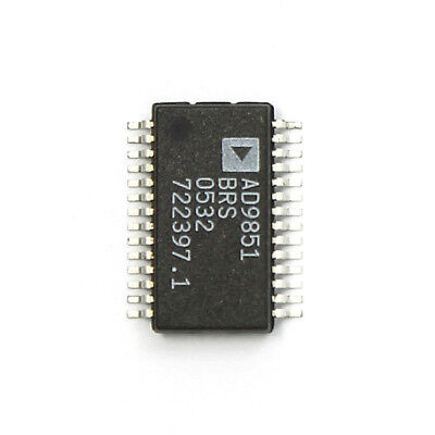 Ad9851brs Packagessop-28cmos 180 Mhz Ddsdac Synthesizer