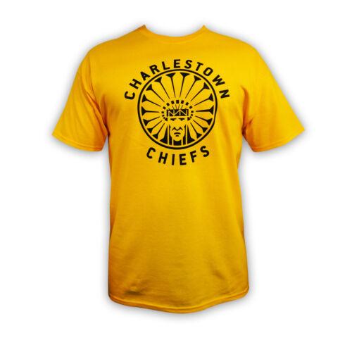 "SlapShot movie Charlestown CHIEFS T-shirt ""Officially Licensed*"