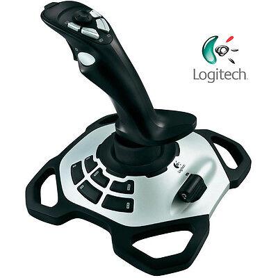 Logitech Extreme 3D Pro Precision Joystick Gaming Programmable Controller USB