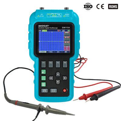 Handheld Oscilloscope Digital Scopemeter Multimeter 3 In 1 Color Lcd Displaydmm