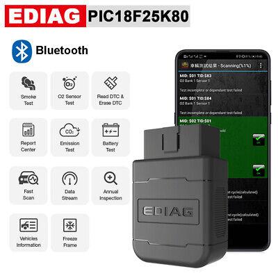 ELM327 V1.5 OBD2 Bluetooth PIC18f25k80 Chip EOBD Car Auto Diagnostic Scanner