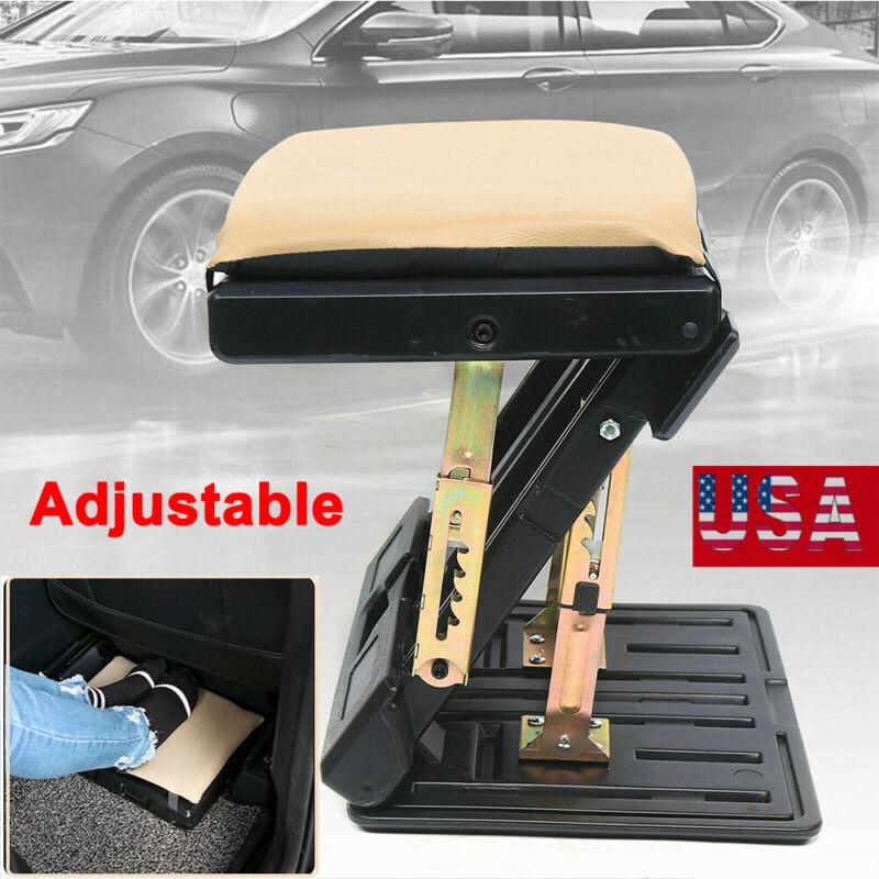 Adjustable Footrest Portable Ergonomic Under Desk Foot Rest for Car/Home/Office