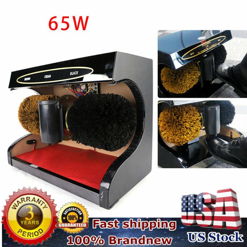 Automatic Electric Shoe Polishing Machine Buff Polisher Polish Shining Cleaner