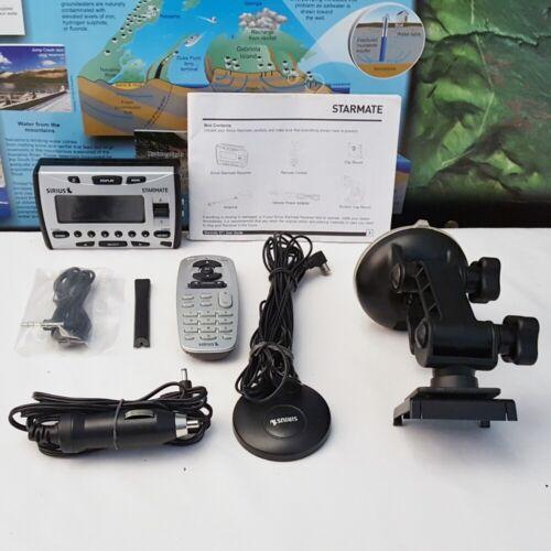 MINT ~ SIRIUS XM Starmate ST1 Satellite Radio & Car Kit ~ LIFETIME SUBSCRIPTION