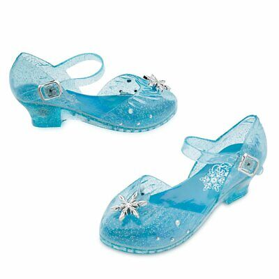 Disney Elsa Light-Up Costume Shoes for Kids Size 2/3