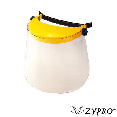 Safety Face Shield Flip Up Protective Polycarbonate Visor Reusable Liquid Splash