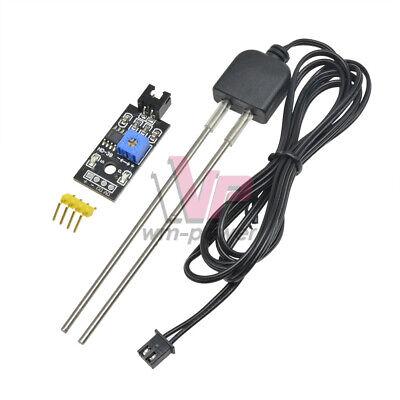 Soil Humidity Hygrometer Moisture Detection Sensor W Corrosion Resistance Probe