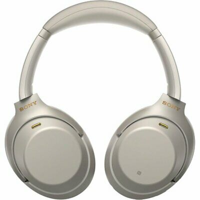 Sony WH-1000XM3 Wireless Noise Cancelling Headphones Auriculares - Plata