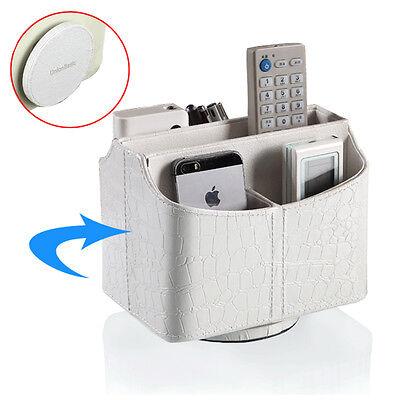 Rotatable 360 Remote Control Controller Organizer Spinning Desktop Caddy Holder ()