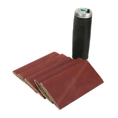 9 X 3 Aluminum Pneumatic Sanding Drum Rubber Sleeve With Sanding Belts Set Kit