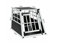 Metal dog crate for car / home