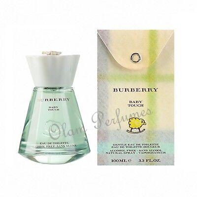 Burberry Baby Touch Alcohol Free Eau de Toilette Spray 3.3 / 3.4oz 100ml *New*  Eau De Toilette Alcohol