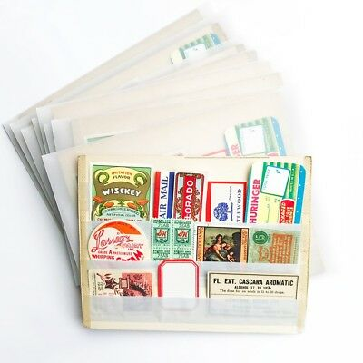 Wholesale Lot 10 Packs Ephemera - Authentic Vintage Labels, Poster Stamps & more
