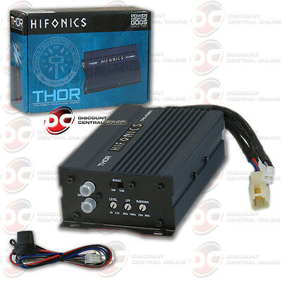 Brand New Hifonics Mini Compact Car Motorcycle Audio Mono Amplifier 500 Watts