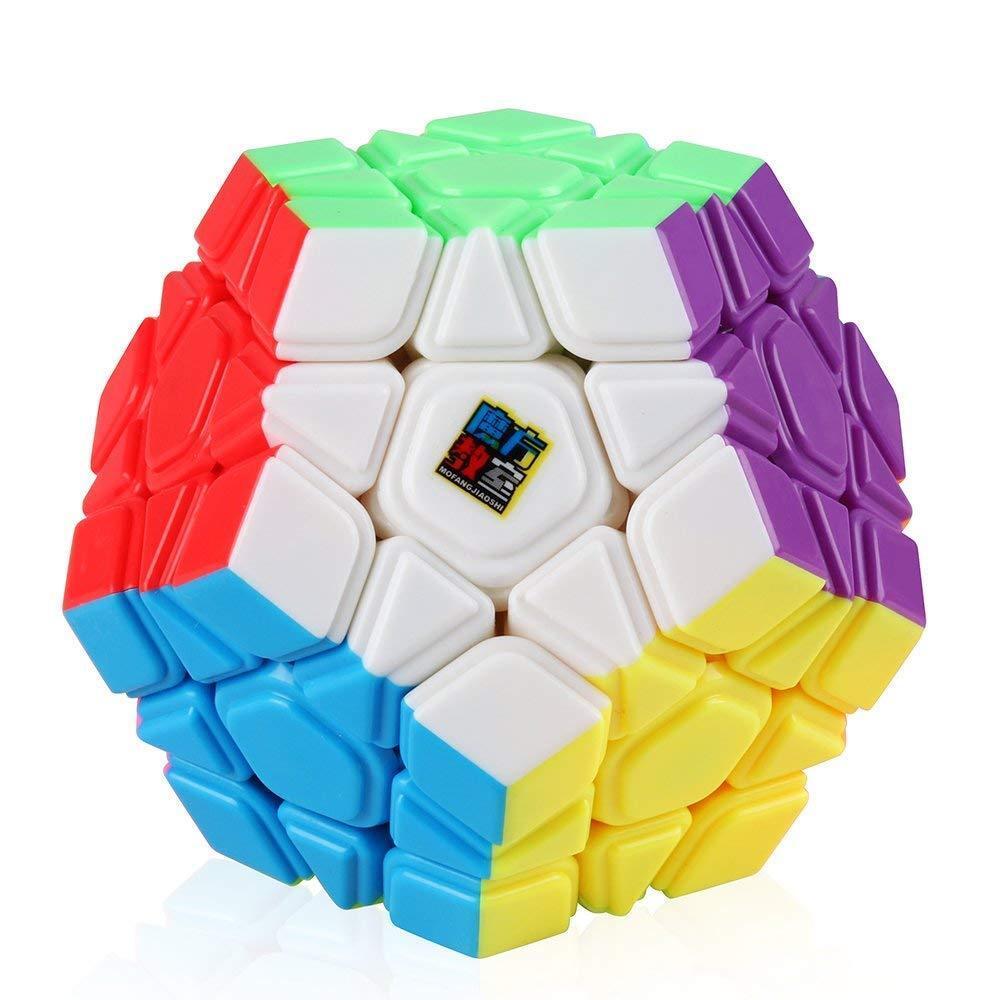 FAVNIC Megaminx Speed Cube 2x2 Puzzle Toy Black