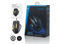 Newmen G300 USB Programmable Gaming Mouse. 8200 DPI, 9 Buttons, 8 DPI Levels & Weight Tuning Set
