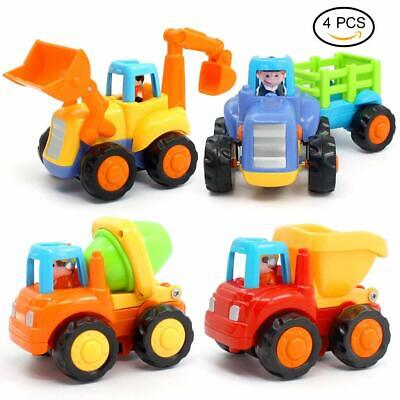 Kids Powered Cars Push Inertia Toy Early Educational Toddler Baby Toys Friction ()