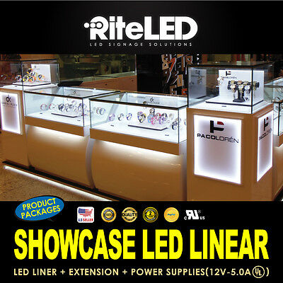 Led Display Showcase Bright Lighting Professional Custom Jewelry Store Pawn Shop