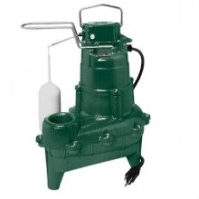 Zoeller 264-0001 Waste-mate 264 Series Sewage Pump 410 Hp 115 V 1 Ph