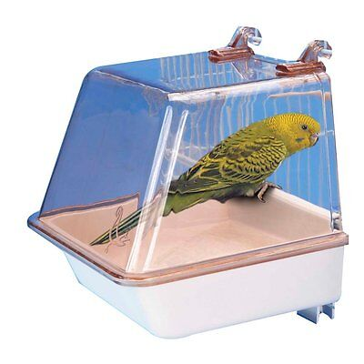 PENN PLAX BIRD BATH ADJUSTABLE HANGING DELUXE SMALL. FREE SHIPPING TO THE USA
