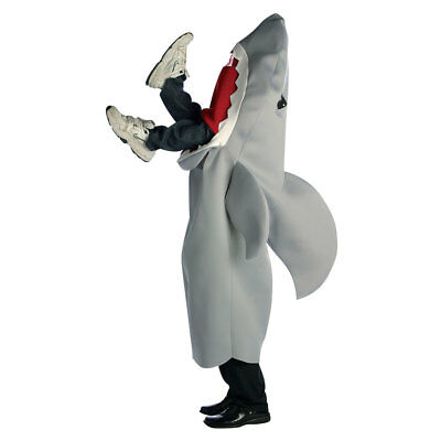 Man Eating Shark Suit Adult Standard Costume - Shark Adult Costume
