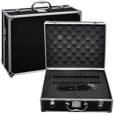 Xit Hard-sided Photographic Equipment Case with Pick & Pluck Foam, Small (Black)