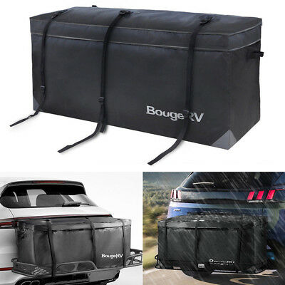 Car SUV Cargo Luggage Carrier Bag Storage Hitch Mount Waterproof Travel