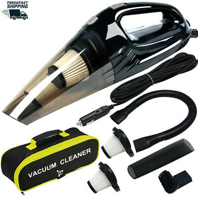 Powerful Car Vacuum Cleaner, Portable Wet & Dry Handheld Strong Suction Cleaner