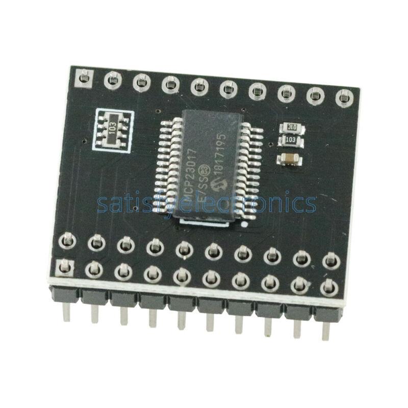 MCP23017 Bidirectional 16-Bit I/O Expander with I2C IIC Serial Interface Module