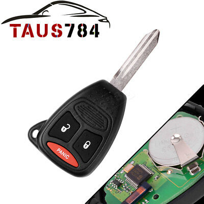 Replacement for Dodge 2004-10 Dakota 2004-13 Durango Remote Key Fob for KOBDT04A for sale  Shipping to Canada