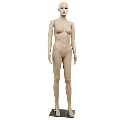 Female Full Body Realistic Mannequin Display Head Turns Dress Simulation Store