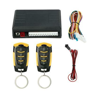 Universal Remote Central Locking Unlock System Auto Car Keyless Entry Kit J1E1