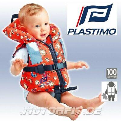 PLASTIMO Kinderrettungsweste BABY TYPHON ORANGE Flugzeuge 3-10kg 100N 1-2 Jahre