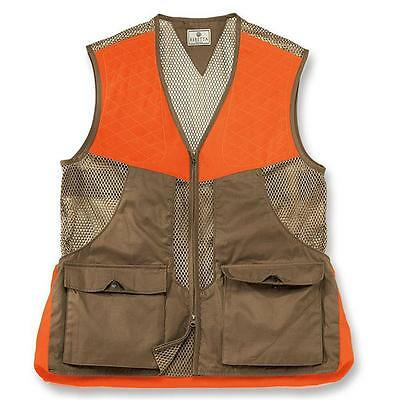 BERETTA UPLAND VEST HUNTING / SHOOTING Saddle Tan & Blaze Orange XXL NEW
