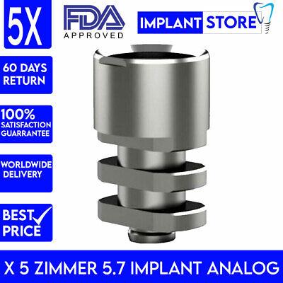 X 5 Zimmer 5.7 Implant Analog