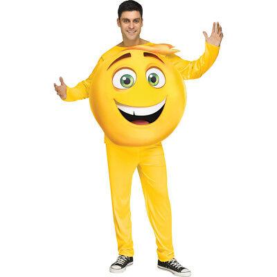 Adult Emoji Movie Gene Halloween Costume - Halloween Costume Emojis