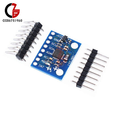 Mpu-6050 Gy521 6dof 3 Axis Gyroscope Accelerometer Module For Arduino