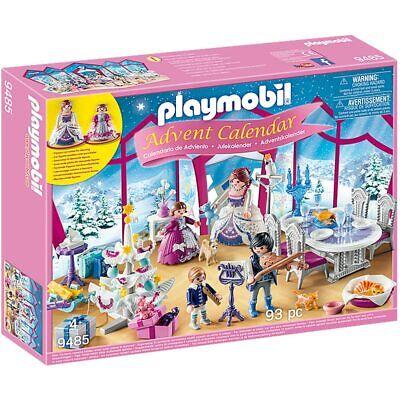PLAYMOBIL Princess Advent Calendar Christmas Ball 9485 - 93 Pieces Age 4+
