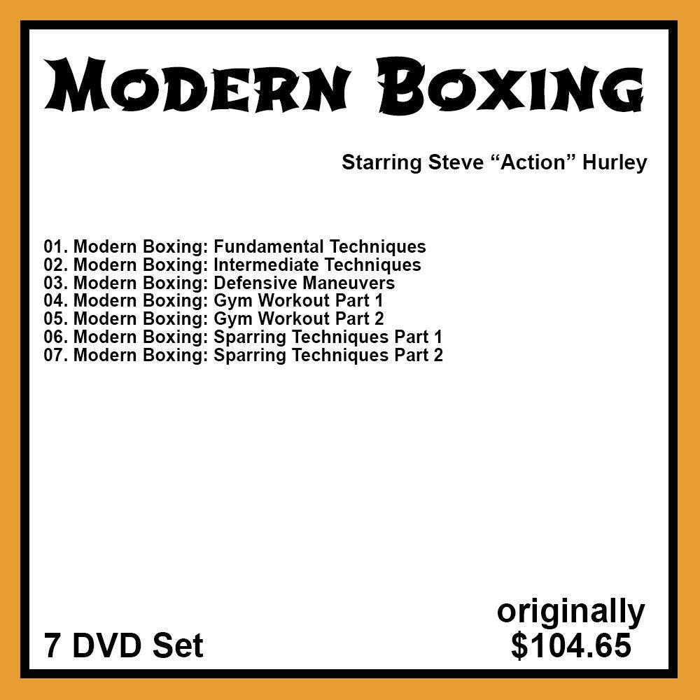 как выглядит Steve Hurleys Modern Boxing Series 7 DVD Set фото