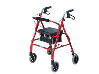 Roma Medical Rollator Lightweight Walking Aid
